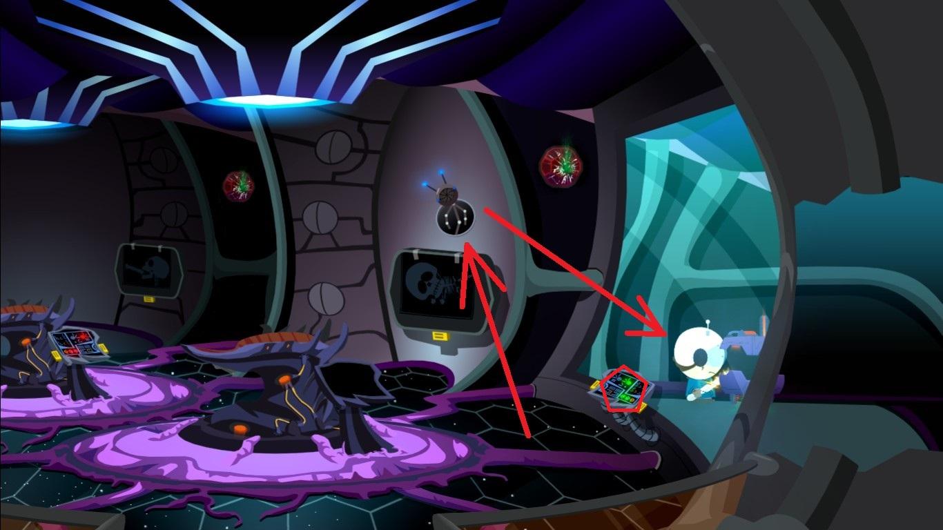 Secret Area Probe Room one